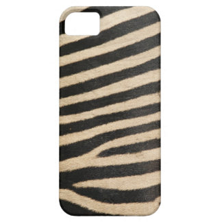 Photographic zebra print, textured. iPhone 5 case