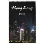 photographie 2016 de Hong Kong Calendriers