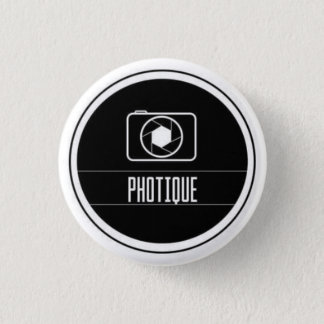 Photography 1 Inch Round Button
