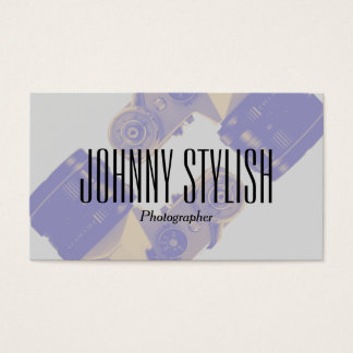 Photography and image graphic profession business card