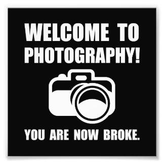 Photography Broke Photograph
