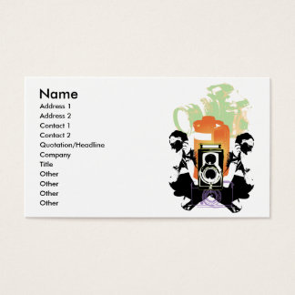 """""""Photography"""" Business Card"""