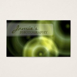 Photography Business Card Modern Lens