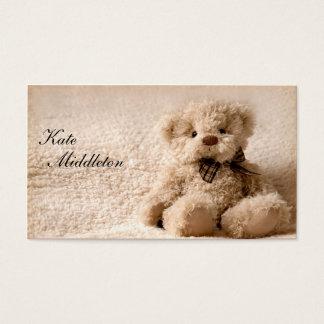 Photography Business Card - Teddy Bear