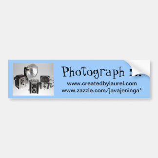 Photography Business Promotional Bumper Sticker