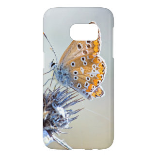 Photography butterfly putting in desert flower samsung galaxy s7 case