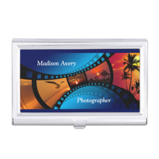 Photography Film Photos Photographer Business Card Holder