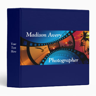 Photography Film Photos Photographer Vinyl Binder