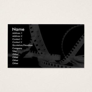 Photography, Flim, Entertainment Business Card