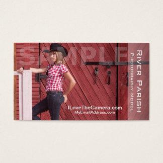 Photography Headshot Business Card