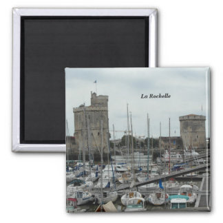 Photography La Rochelle, France - Square Magnet