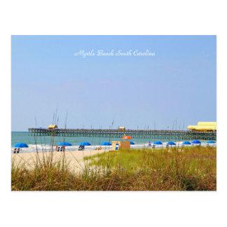 Photography of Pier, Myrtle Beach, South Carolina Postcard