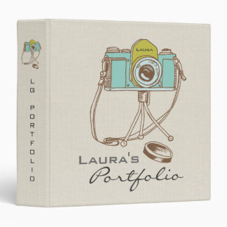 Photography Photo Portfolio Personalized Binder