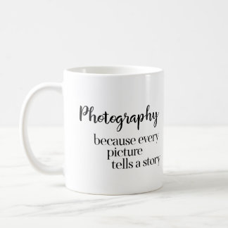Photography / Photo Studio Because Every Picture Coffee Mug