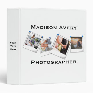 Photography Photographer Minimal Professional Binder