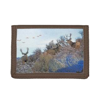 Photography photoshop wildlife art tri-fold wallets