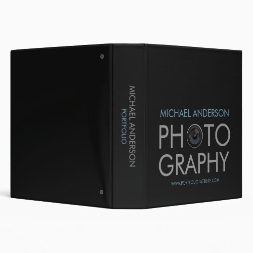 Photography Portfolio binder
