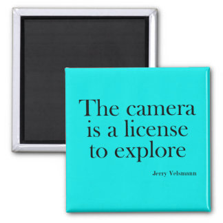 Photography quotes magnet