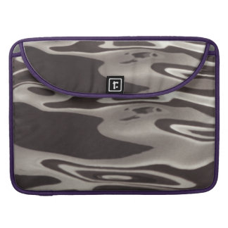 Photography reflection Water Grey/Brown Fluxus03 MacBook Pro Sleeve