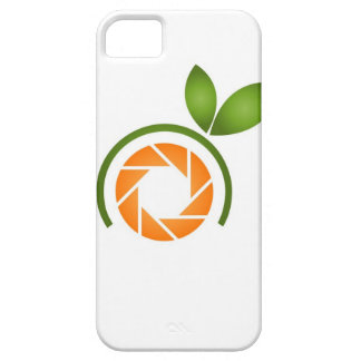 Photography shutter with green leaves iPhone 5 cover