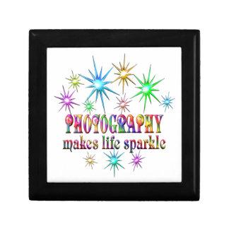 Photography Sparkles Keepsake Boxes