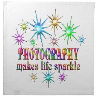 Photography Sparkles Napkin