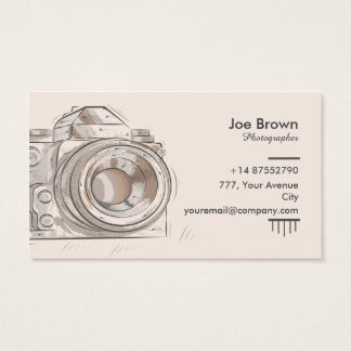Photography Vintage Original - Business Card