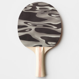 Photography Water reflection Grey/Brown Fluxus 02 Ping-Pong Paddle