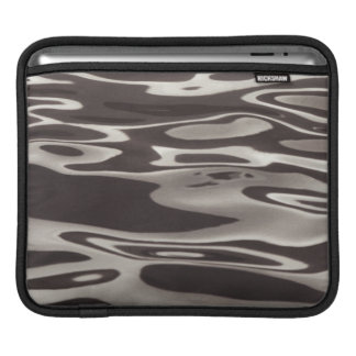 Photography Water reflection Grey/Brown Fluxus 03 Sleeve For iPads