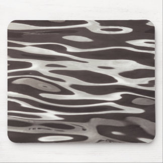 Photography Water reflection Grey/Brown Fluxus 04 Mouse Pad