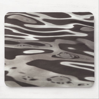 Photography Water reflection Grey/Brown Fluxus 05 Mouse Pad