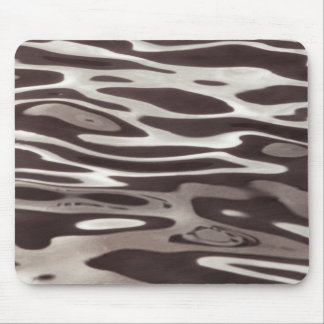 Photography Water reflection Grey/Brown Fluxus 06 Mouse Pad