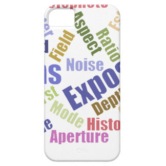 Photography words IPhone Case