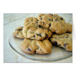 Photolicious Chocolate Chip Cookies Greeting Cards