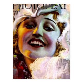 PHOTOPLAY AGNES AYERS OCT 1921 POSTCARD