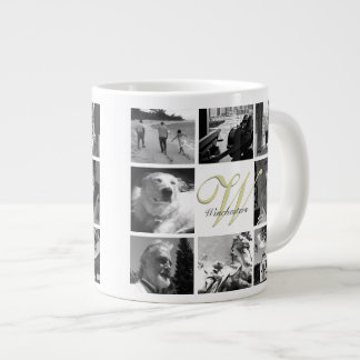 Photos and Monogram Mug