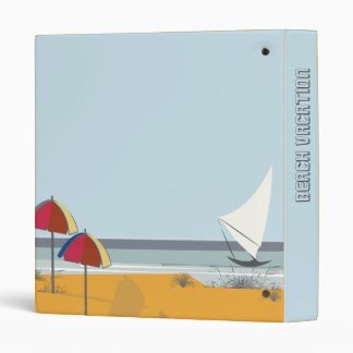 Photos Sailboat Beach Nautical Binder