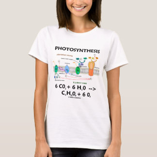 Photosynthesis (Carbon Dioxide + Water) T-Shirt