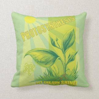 Photosynthesis Throw Pillow
