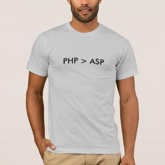 PHP > ASP T-Shirt