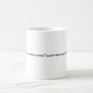 "<?php include(""coffee.hot""); ?>, PHP Coder Mug"