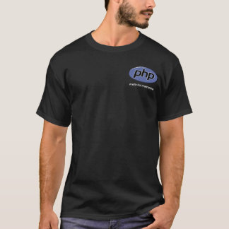 PHP Pretty Hot Programmer T-Shirt