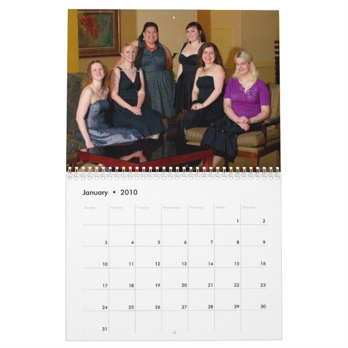 PHP Women 2010 (normal) Wall Calendars