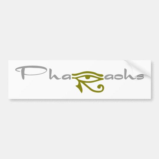 Phraohs Bumper Sticker