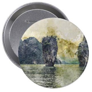 Phuket Thailand 4 Inch Round Button