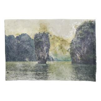 Phuket Thailand Tropical Paradise in Asia Pillowcase