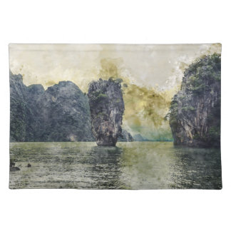 Phuket Thailand Tropical Paradise in Asia Placemat