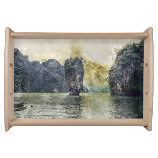Phuket Thailand Tropical Paradise in Asia Serving Tray