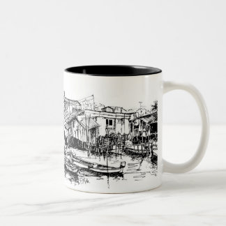 Phuket Two-Tone Coffee Mug
