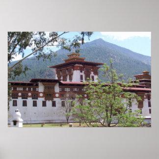 Phunaka Dzong Poster